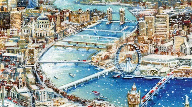 Лондон през коледните празници