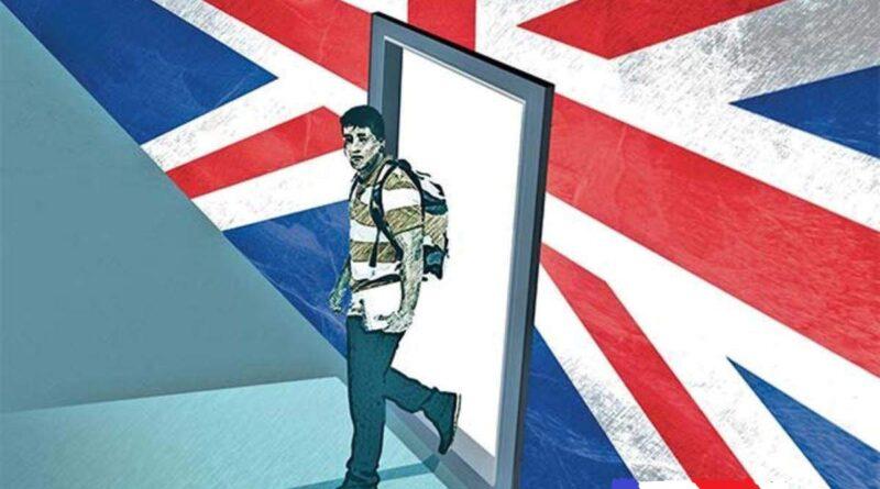 Намаляване на приема в Обединеното Кралство