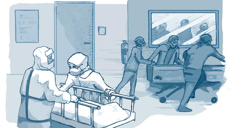 Как се справиха болниците в Лондон с коронавирус болните