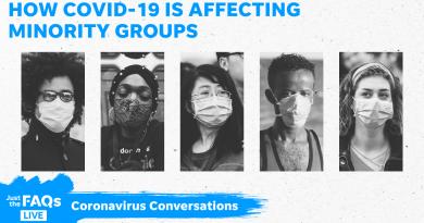 Азиатци и Африканци се заразяват по-лесно с коронавирус