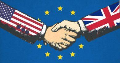 Начало на преговорите между САЩ и Обединеното Кралство