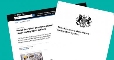 Нови правила за установяване в Обединеното Кралство