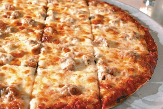 Пица на квадратни парчета
