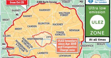 Зона без замърсяване в лондон