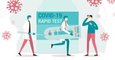 Антигенен тест за ваксинирани в Англия